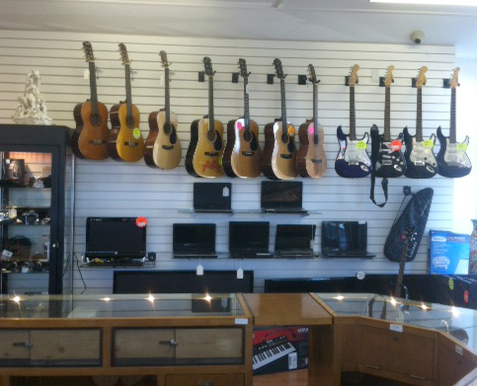 Used Guitars Redwood City